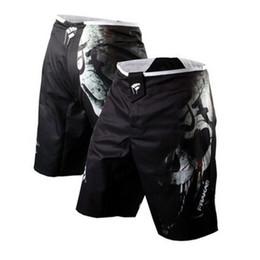 тренировочные шорты мужчины mma Скидка Мужские шорты Mma Боксерские сундуки Bad Bo Fight Shorts Боксерские штаны Джиу-джитсу Муай тай Брюки Тонкие муай тай тренировочные шорты
