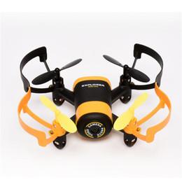 Wholesale Jxd Wifi - JXD 512W JXD512W Drone Phone control 2.4Ghz WiFi FPV Mini UFO One-Key-return & Headless Mode RC Quadcopter with 0.3MP HD Camera RTF