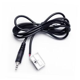 LEEWA Автомобильный стереозвук 3,5 мм AUX Адаптерный кабель, подходящий для Citroen C2 / C5 / RD4 / C-Quatre / Sega / Triumph # 3963 от