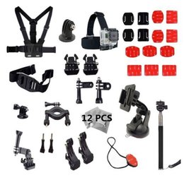 Wholesale High tech software actionCAM Accessories Set for Go pro Hero4 Silver Hero and SJCAM SJ4000 SJ5000 and Xiaomi Yi Sport Camera