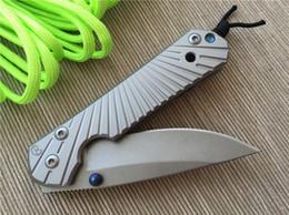 Wholesale Pocket Utility Knife - 2016 Chris Reeve D2 Blade Sebenza 21 Style Stone Wash Edge Handle EDC Folding Pocket Knife Utility Outdoor Gear Knife 4L