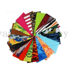 Wholesale Turban Headband Scarf - Scarf Riding Bicycle Motorcycle Bandana Variety Turban Magic Headband Veil Scarves 10pcs Multifunction Sport Scarf