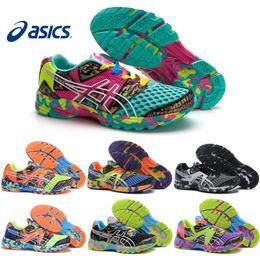 Wholesale Original Sneakers Box - Asics Gel-Noosa TRI 8 VIII Men Women Running Shoes 100% Original Cheap Jogging Sneakers Lightweight Sports Shoes Free Shipping Size 36-45