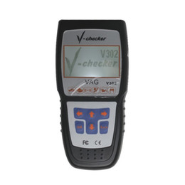 Wholesale vag usb - V-CHECKER V302 VAG Professional CANBUS Code Reader with LCD Screen free shipping