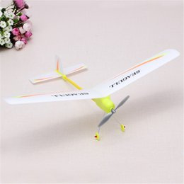 Wholesale Airplane Assembly Toys - Wholesale-Hot Sale Electronic Toys and Children's Product DIY Easy Assembly Electricity Airplane