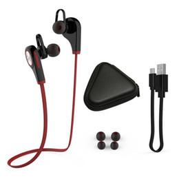 Trasduttore auricolare q9 online-Auricolare Bluetooth Q9 Auricolare In-Ear senza fili q9 Sport con auricolari stereo Vivavoce per iPhone x 8 plus Samsung Smartphone