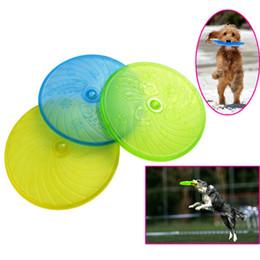Wholesale Dog Training Discs - Pet Dog Flying Discs Safe Durable Frisbee For Dog Training