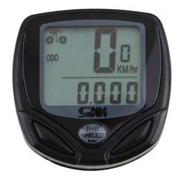 Wholesale Odometer For Bikes - 1pcs Bicycle Meter Speedometer Wireless digital LCD Cycle Computer Bicycle Odometer For Bike Newest