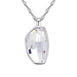 Wholesale Post Parcel - 2017 Hot Sale Diamond Crystal Necklaces Ornament Trendy Women Banquet windding business more color Parcel post