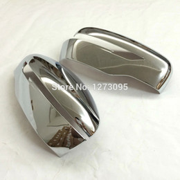 Wholesale Mirror Strips - ABS Chrome Rearview Mirror Trim Side Wing Mirror Protector Strip For 2015 2016 Nissan Qashqai J11 Auto Styling Accessory