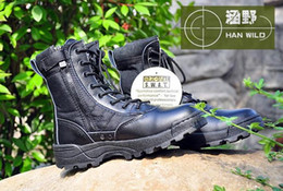 Wholesale Swat Boots Desert - SWAT Men Military Boots special forces tactical desert combat boots outdoor snow boots Infantry special boots,botas femininas