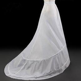 Wholesale Underskirt Bridal Wedding Petticoat Train - Crinoline petticoat Wholesale 2016 The Bridal Petticoats for Wedding Dress Sweep Train plus size petticoats Underskirt Lining Accessories