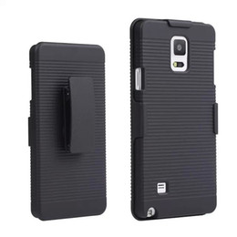 Wholesale Note Holster Wallet - Hot Sell Black Belt Clip Swivel Kickstand Holster Case Cover For Samsung Galaxy Note 4 N9100 free ship