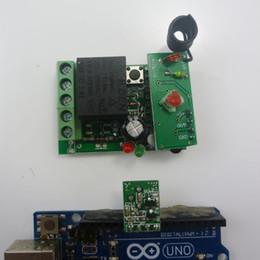 Arduino пульт дистанционного управления UART PC USB DC24V РФ беспроводной контроллер реле PT2262 MCU от