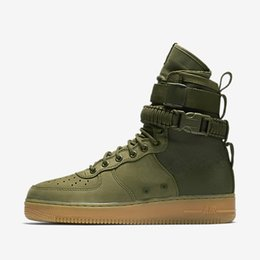 Wholesale Black Combat Boots Women Fashion - Hot Sale Special Field Air 1 One Men and women high and low boots air combat boots leather warm fashion shoes Height Increasing Shoes
