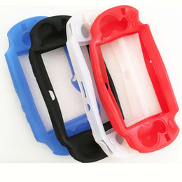 Wholesale Games For Ps Vita - Newest Soft Silicone Skin Cover Protector Frame Sleeve Game Case Protective Shell Guard For Sony PlayStation PS Vita PSV 1000