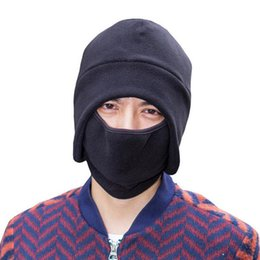Wholesale Mask Moto - Winter Hats for Men Balaclava Mask CS Skull Moto Caps Man Z-1896
