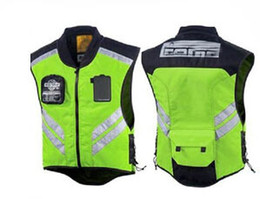 Wholesale Reflective Motorcycle Jackets - Hot-sell MESH motorcycle motorbike bike racing high visible reflective warning cloth vest road riding vest jacket