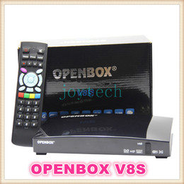 Wholesale Usb Processors - openbox v8s HD digital satellite receive dual core cpu 396MHZ MIPS processor openbox v8 receive support 2x USB with 3G model