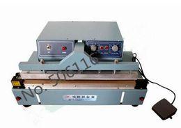 Wholesale Paper Bags Machine - Automatic Table Type Sealer,Desktop band sealing machine,kraft paper aluminum plastic film bag impulse sealer,220V 850W