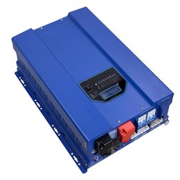 Wholesale 24 Dc Inverter - Hybrid Power Inverter 24 Volts DC to 240 Volts 4000 Watt with UPS Backup, AVR, 40A  60A Solar Charger