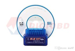 Wholesale Obd2 For Sale - New Super Mini V2.1 ELM327 OBD2 ELM 327 Bluetooth Interface Auto Car Scanner Diagnostic Tool hot sale