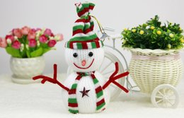 Wholesale Snowman Ornaments Sale - Hot Sale Arrivel Amazing Christmas Small Snowman For Christmas Decoration Cute Christmas Tree Hang Decorations top quality
