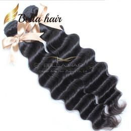 Wholesale Brazilian Virgin Hair 2pcs - 2pcs lot 7A Brazilian Loose Body Wave Hair Cambodian Virgin Hair Extensions Natural Color Loose Deep Wave Human Hair