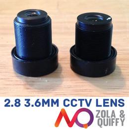 "Wholesale Cctv Lens Mm - 1 3"" 2.8 & 3.6 mm FPV CCTV IR Camera Lens KIT RC Quadcopter Security TVL OSD KK2"