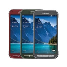 Wholesale S5 Cellphone - unlocked original Samsung Galaxy S5 Active Samsung G870A Mobile phone Quad-Core 5.1 inches 16MP refurbished cellphone