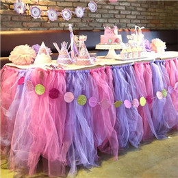 Wholesale Green Tulle Roll - 3Rolls 6*25Y Wedding Party Decoration Roll Crystal Tulle Plum Organza Sheer Gauze Element Table Runner wedding favors 22x15cm