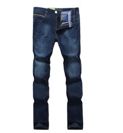 Wholesale Chinese Fashion Jeans - 2016New Fashion High Quality Famous Brand Men Jeans Cotton Denim Jeans Casual Straight Washed Pants Levy Jeans plus Size:29~38