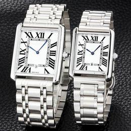senhoras quartzo valentine Desconto Ultra fino amantes dos homens das mulheres relógios de luxo de aço inoxidável completa banda marca de quartzo relógio de pulso para o homem senhora melhor presente dos namorados relogios