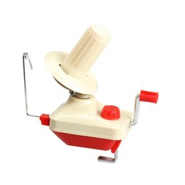 Freeshipping Hilo Swift Portátil Fibra Cuerda Bola Lana Winder Holder Winder Fiber Hand Operated New Cable Winder Machine Wholesale desde fabricantes