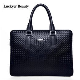 Bag businessmen à vendre-LUCKYER BEAUTY Porte-documents en cuir de luxe pour hommes d'affaires