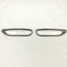 Wholesale Fog Lamp For Nissan - ABS Chrome Rear Fog Light Lamp Cover Trim Tail Fog Light Cover For 2015 2016 Nissan Qashqai J11 Auto Styling Accessory