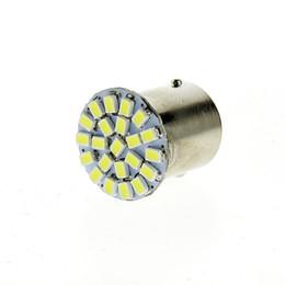 Wholesale Ba15s 22 Smd - BA15S 1156 LED White Lights 22 smd led 12V Car Tail Rear Side Lamp Bulb