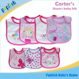 Wholesale Cheap Baby Girl Bibs - New baby bibs & burp cloths baby feeding baby clothes baby towels cotton baby accessories boys girls waterproof bib cheap price