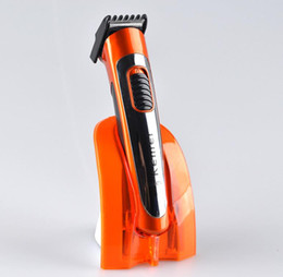 Wholesale Razor Hair Styles - electric man hair clipper Men's Electric Shaver Hair Beard Trimmer Shaving Machine beard styling clipper body hair remover razor