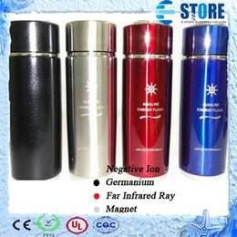 Wholesale Alkaline Water Ionizer Filters - Stainless Steel Alkaline Water Cup Ionizer Flask Nano Energy Cup with Filter Alkaline Water Cup Drop Shipping from alisy