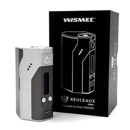 Wholesale Electronic Wattage - Wismec Reuleaux DNA200 Electronic Cigarettes E-cigarette Mods Wismec DNA200 in Stock High Output Wattage Vape Mod TC Mod for Retail