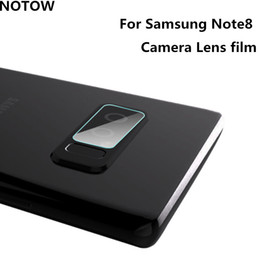 Wholesale Galaxy Camera Cases - 2017 NEW flexible Rear Transparent Back Camera Lens Tempered Glass Film Protector Case For Samsung Galaxy Note8 note4 note5 note3