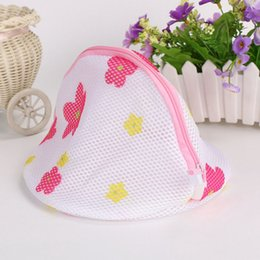 Wholesale Mesh Bra Wash Bag - Women Bra Laundry Bag For Washing Clothes Mesh Bag Household Cleaning Tools Accessories Durable 2 3ml C R