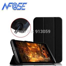 Tavoletta dello schermo online-Custodia protettiva in pelle ultra sottile Custodia protettiva in PU per tablet Nvidia shield K1 per Nvidia shield tablet 8 + proteggi schermo
