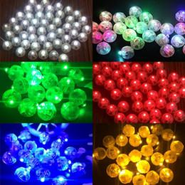2019 sagome di poltrone usate 200 Pcs rotondo colorato LED RGB Flash Ball Lamps Luci a palloncino per Lanterna Natale Decorazione della festa nuziale Decorazione del partito