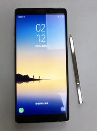 Wholesale Chinese Curve - 6.3inch Curved screen fingerprint Goophone Note8 Unlocked Note 8 13MP Android 7.0 Show Octa Core 4GB RAM 64GBROM 4G LTE Smartphone