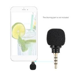 2019 microphone apple pour ipad Andoer Téléphone Portable Smartphone Mini Micro Omni-Directionnel Portable pour Enregistreur pour iPad Apple iPhone5 6s 6 Plus promotion microphone apple pour ipad