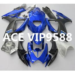 Wholesale k6 kit - 3 gifts Motorcycle Fairing kit for SUZUKI GSXR600 750 K6 06 07 GSXR 600 GSXR750 2006 2007 Motorcycle Fairings set ABS Blue nw20
