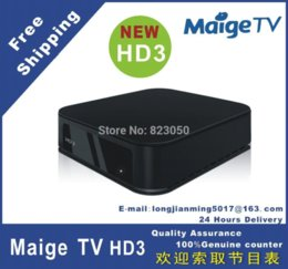 Wholesale Iptv Chinese Channels Box - aige TV HD3 IPTV box HD player,Chinese,HongKong,Taiwan,Korean,Japanese,English channels,Over 440 channels,DHL free shipping box media pla...
