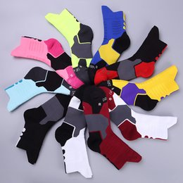 Wholesale Anti Friction Socks - Elite basketball socks men and women ventilation sweat absorption deodorant sports socks winter thickening anti friction socks in the t